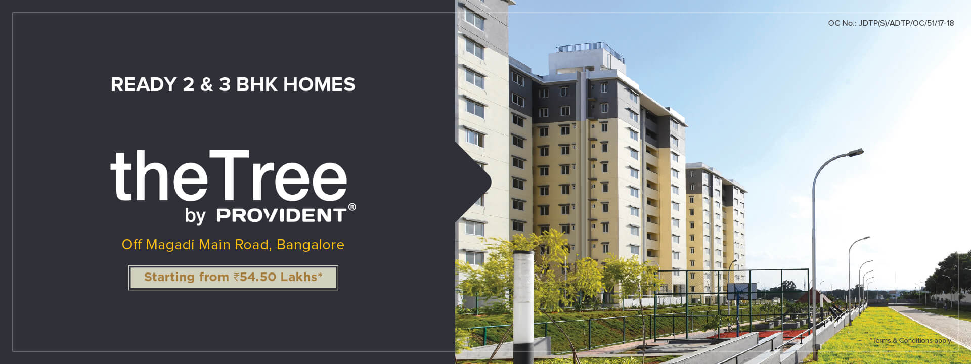The Tree By Provident | Luxury Apartments in Magadi Road | 2 & 3 BHK Flats in Magadi Road