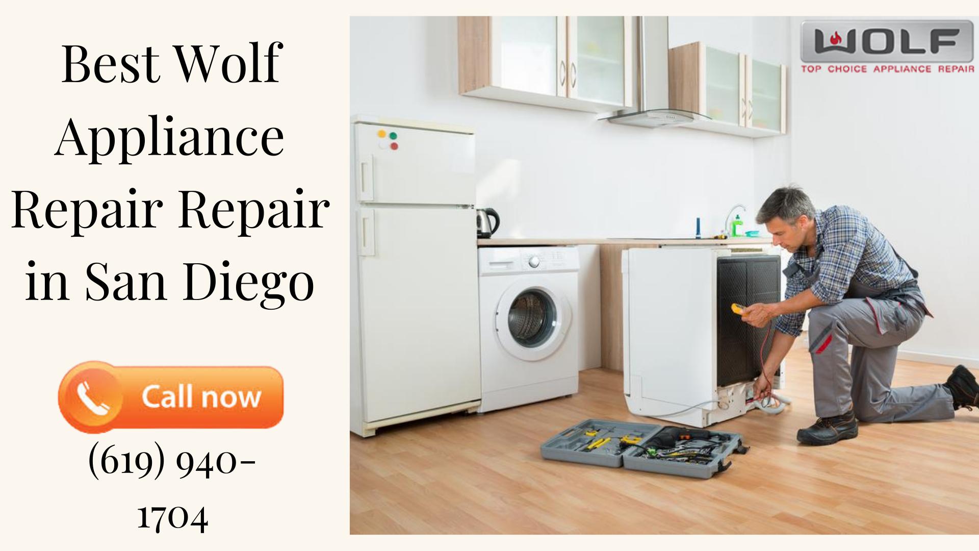 Expert Technicians for Wolf Appliance Repair San Diego