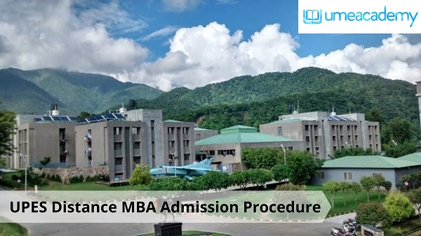 UPES Distance MBA Admission Procedure | umeacademy