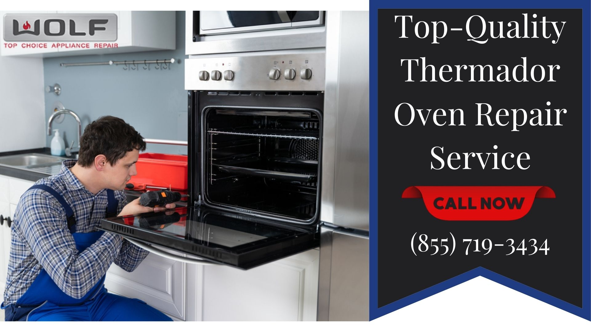 Get Top-Quality Thermador Oven Repair Service