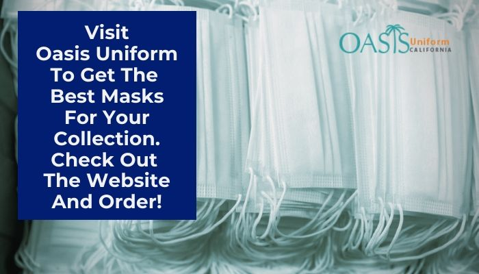 Visit Oasis Uniform To Get The Best Masks For Your Collection. Check Out The Website And Order!