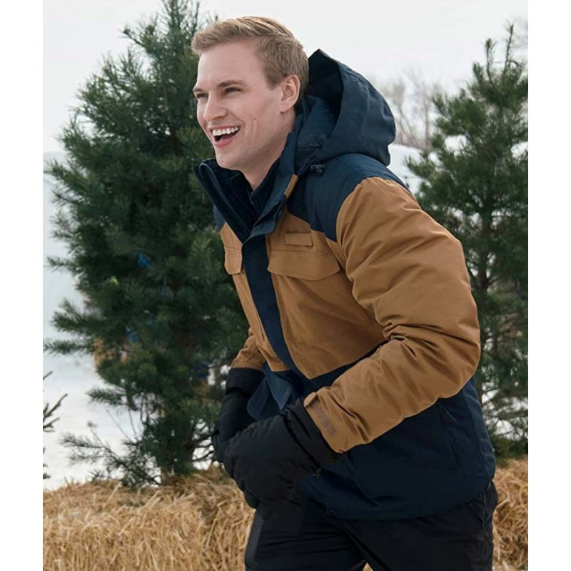 Amazing Winter Romance Film Nate Perry Jacket