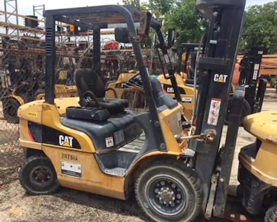 CAT Forklift Trucks Dealers in Texas