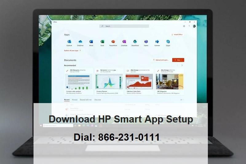 Quickly Download HP Smart App Setup | 866-231-0111