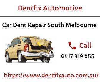 Car Dent Repair Service in South Melbourne