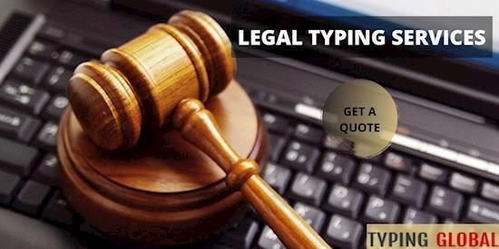 Professional Document Legal Typing Services Online