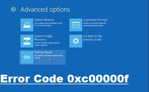 How Do I Fix Error Code 0xc00000f
