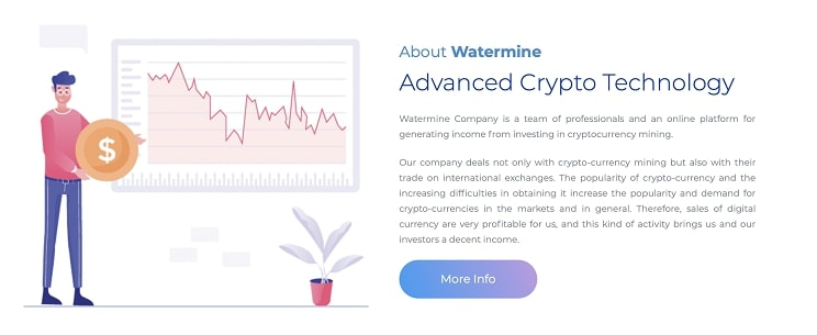 Bitcoin Waterming, Get 2.6% Daily ROI