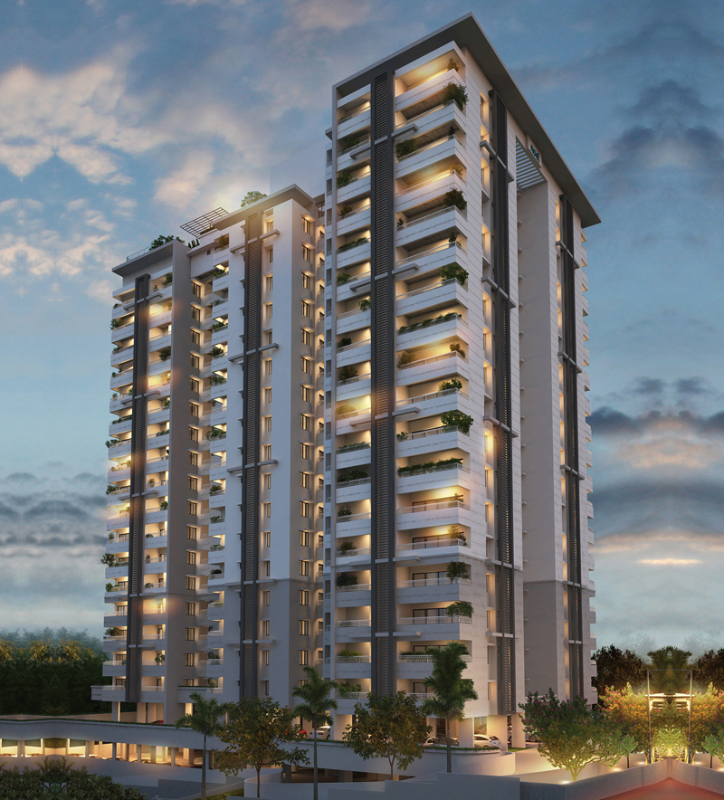 3BHK Apartment in Kochi | Noel Villas and Apartments