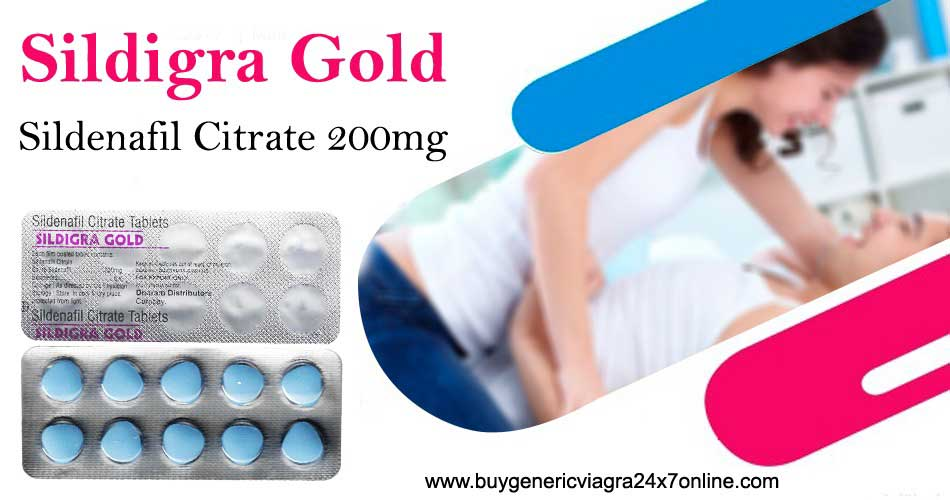 Remedy ED with Sildigra Gold for a Better Sensual Health