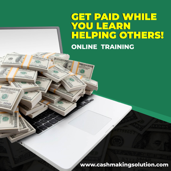 Get paid while you learn, Earn up to $100 - $500 daily work from home!