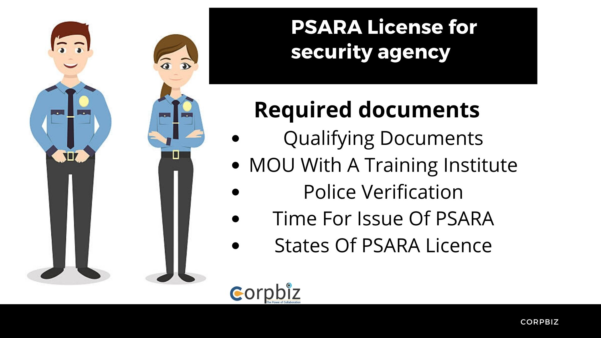 PSARA License - Mandatory for every private security agency