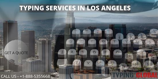 Best Typing Services in Los Angeles CA