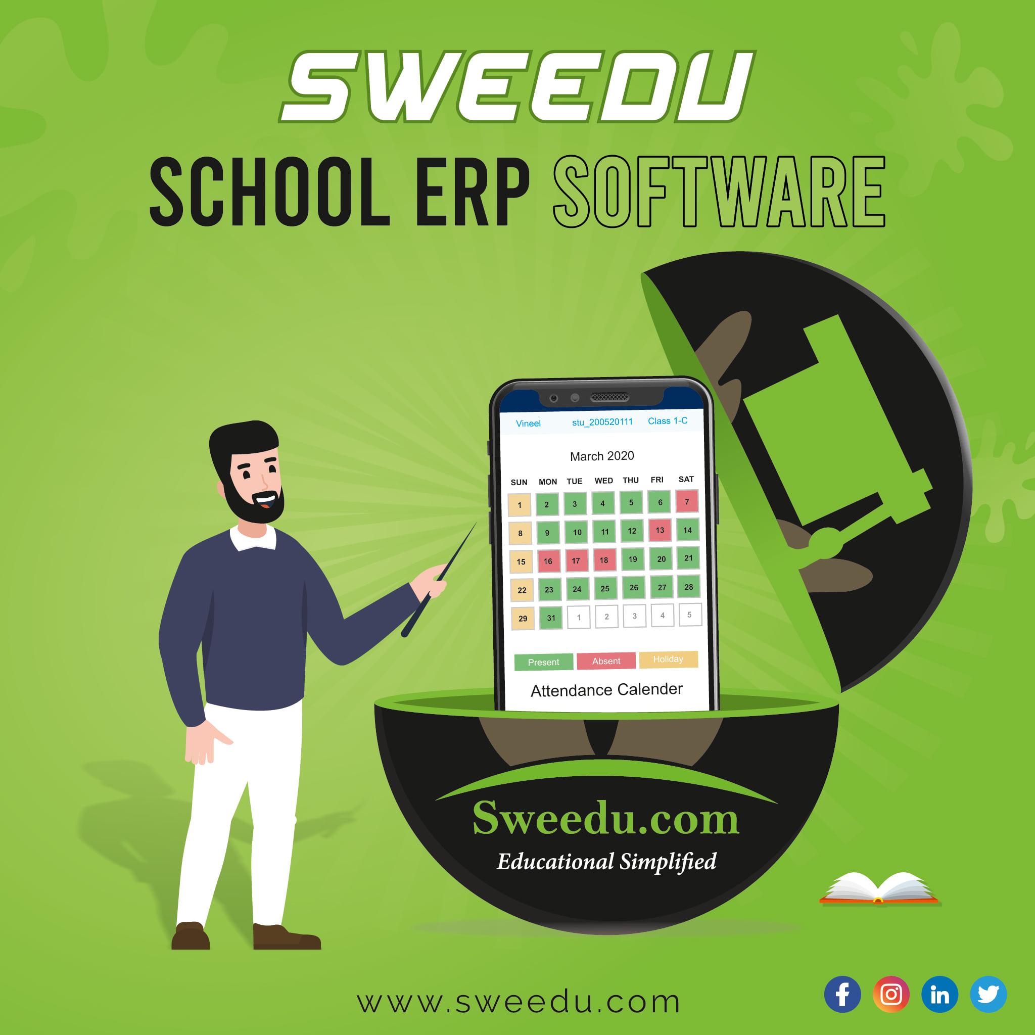 Best School ERP Software in India - Sweedu School Management Software