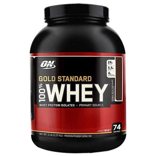 Buy ON Gold Standard 100% Whey Protein, 5lb Online in India (100% Authentic)