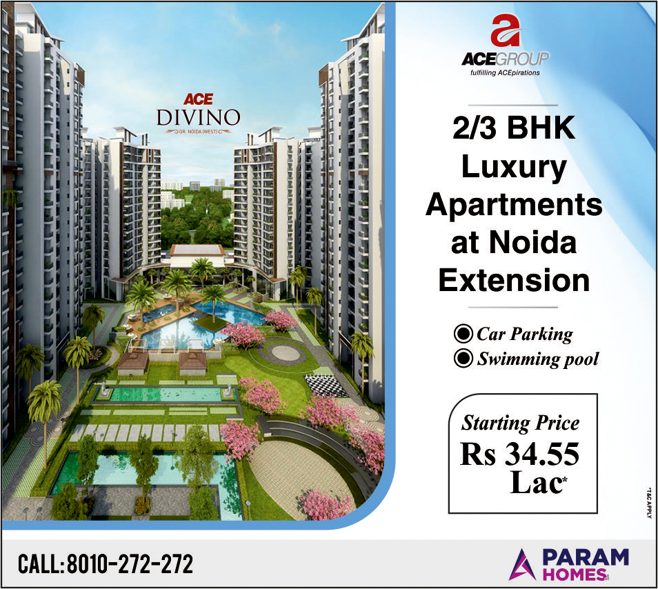 Ace Divino Greater Noida west Luxury 2/3BHK Apartments