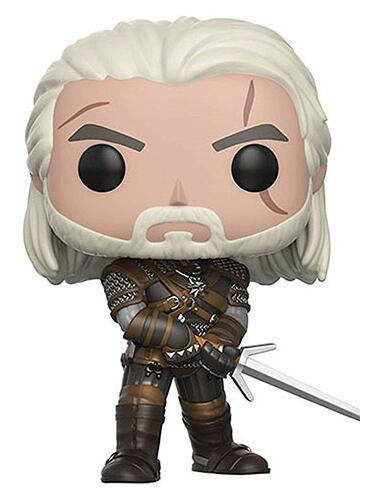 The Witcher Geralt, Ciri & Eredin Action Figure