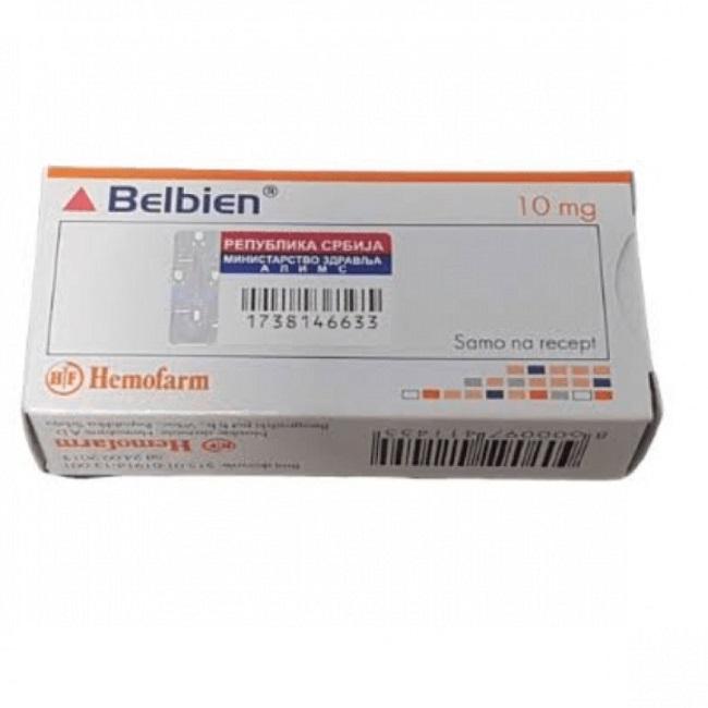 Zolpidem (Belbien) 10 Mg Brand By Hemofarm