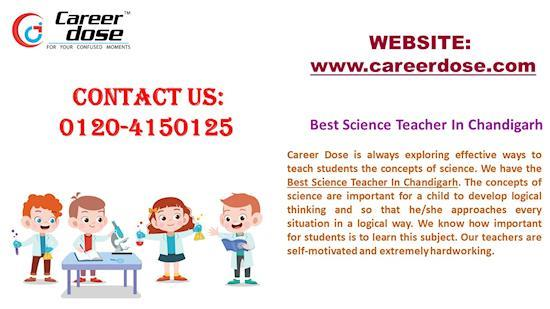 Best Science Teachers in Chandigarh for you child