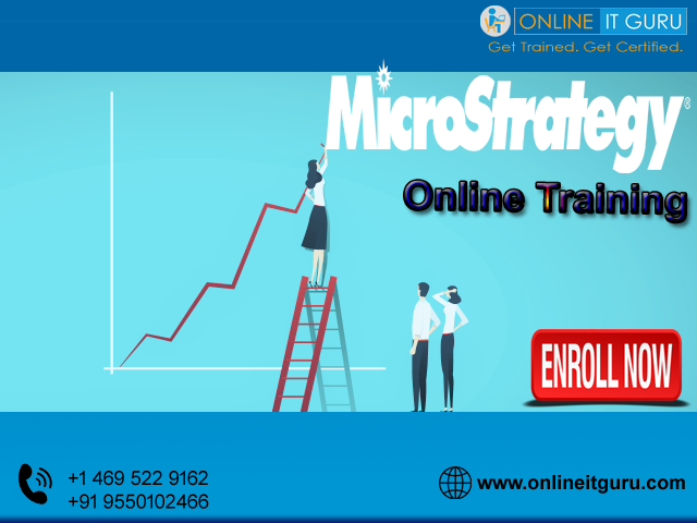 Get A Free Demo On Microstrategy Online Training By Experts