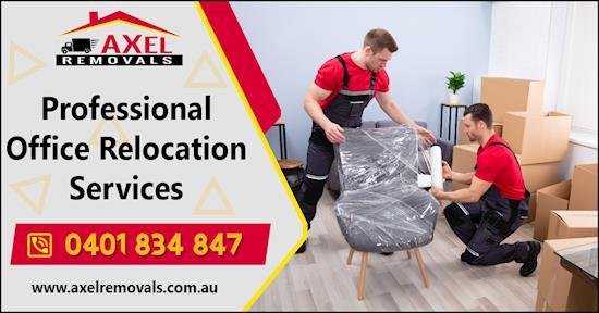 Office Relocation Services in Australia-Axel Removals