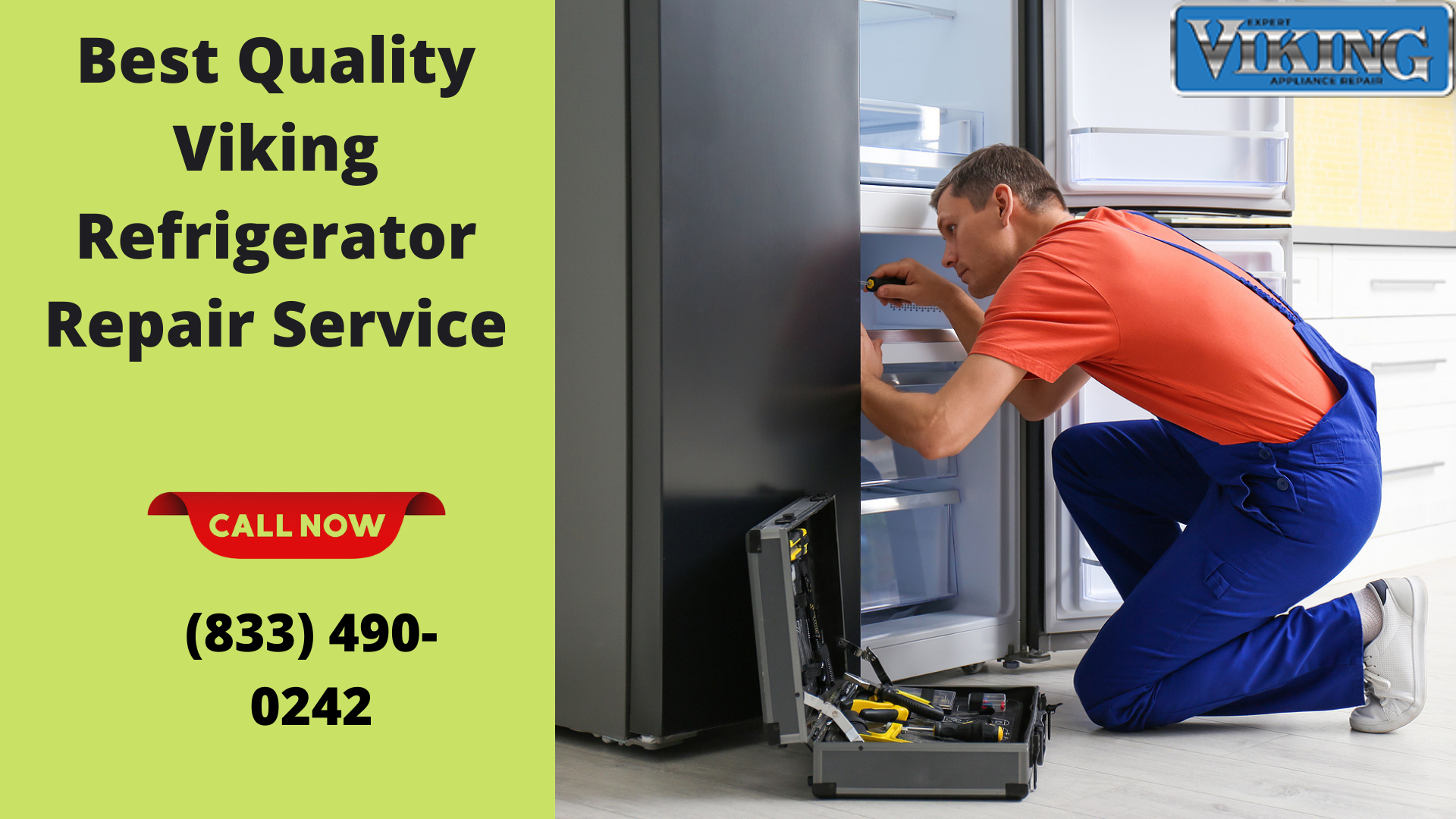 Certified Technicians for Viking Refrigerator Repair Service