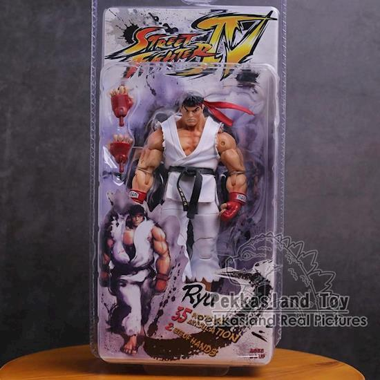 Street Fighter Ken, Ryu, Guile PVC Action Figure
