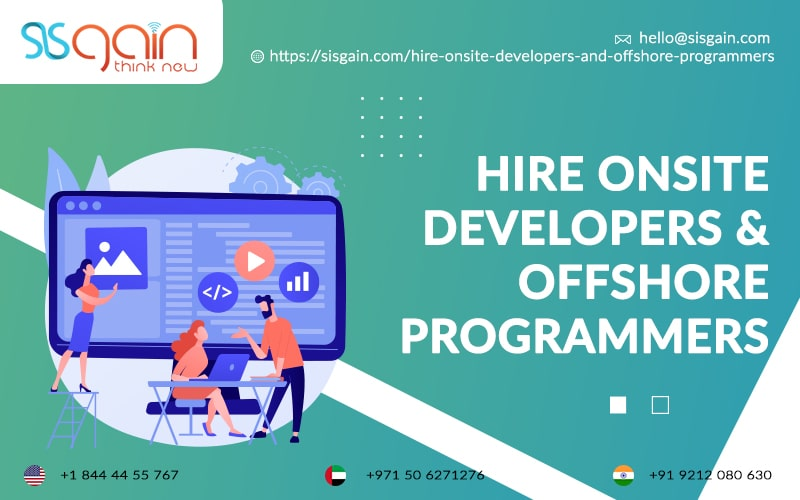 Hire Offshore Web Developers in New Jersey, USA | SISGAIN