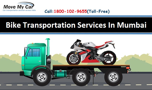 We Provide The Verified Bike Transportation Services in Mumbai