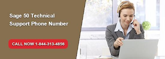Sage 50 Tech Support Number 1844-313-4856