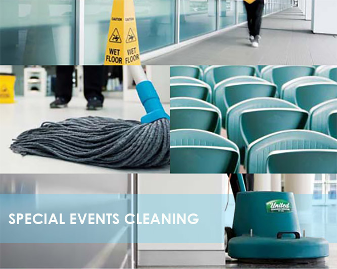Special Event Cleaning Services at the Best Prices!