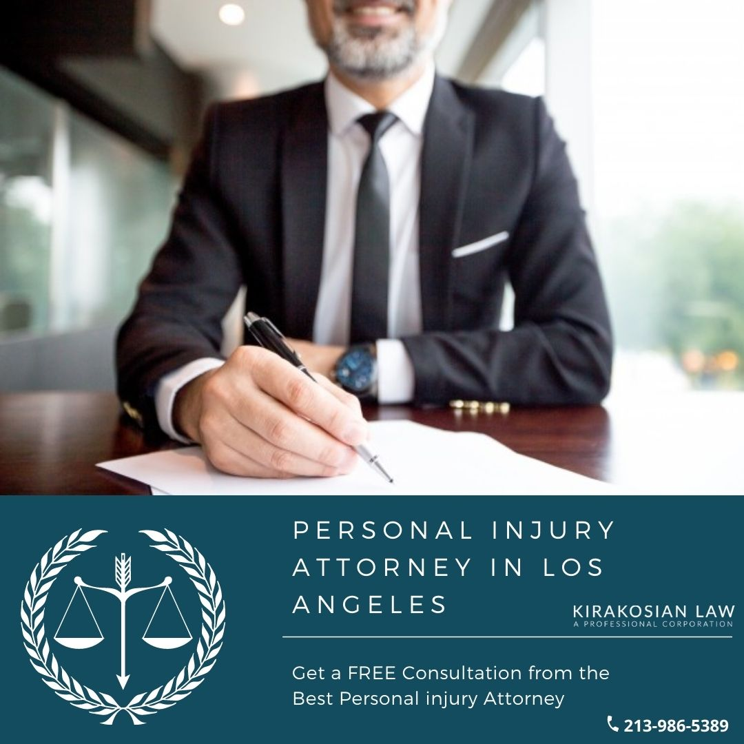 Best Los Angeles, CA Personal injury Attorneys   Kirakosian Law APC