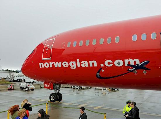 Norwegian Business Class