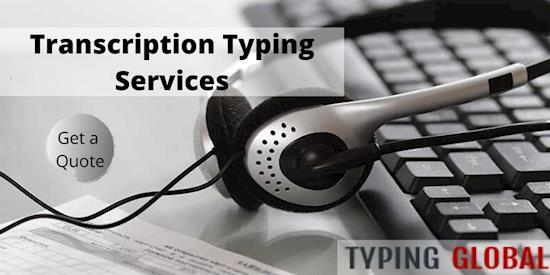 Fast Transcription Typing Services