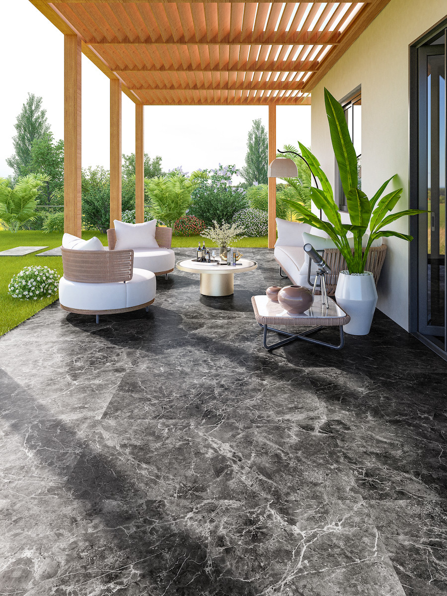 Bradstone Outdoor Porcelain Paving at Royale Stones