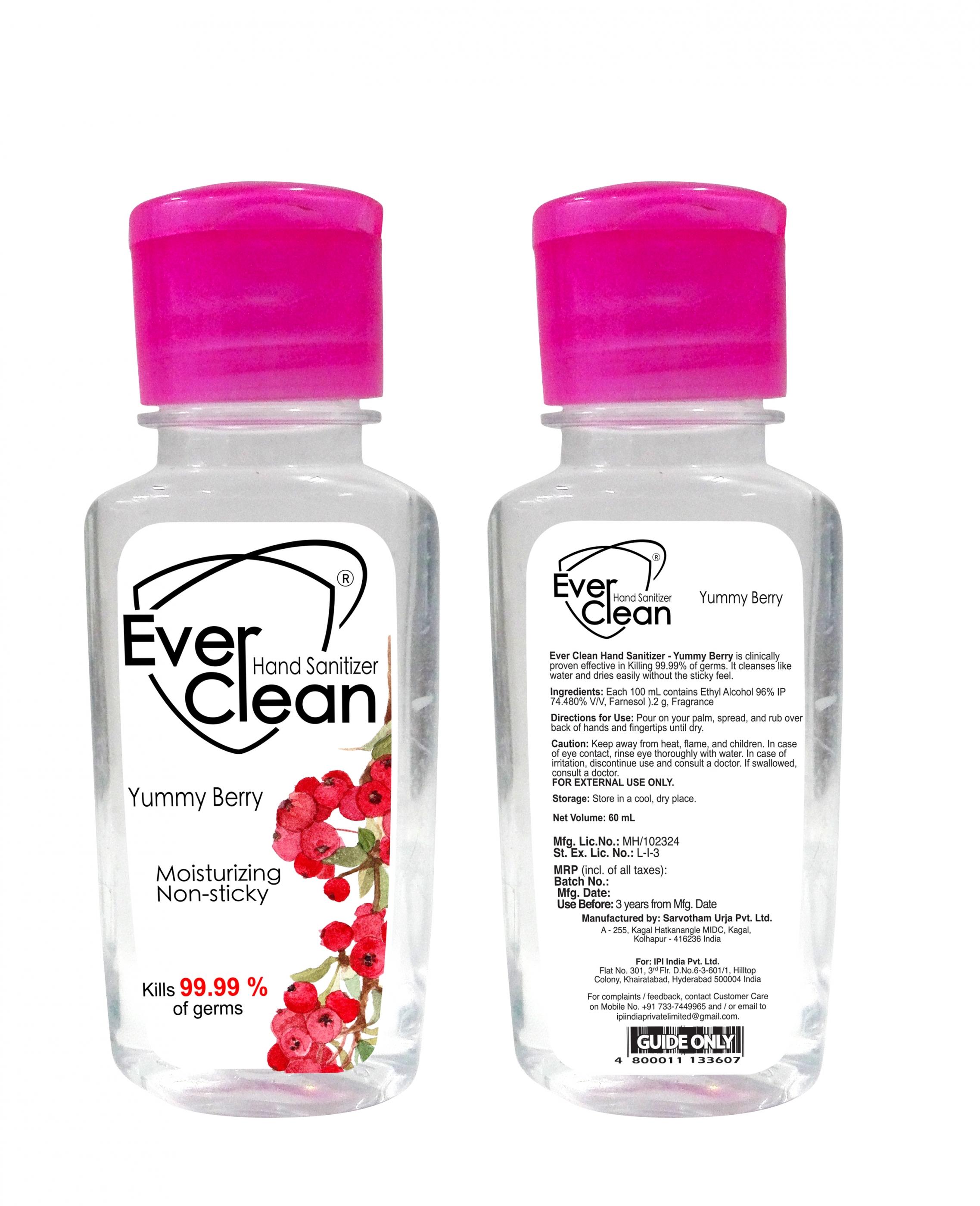 Pocket Pack Hand Sanitizer