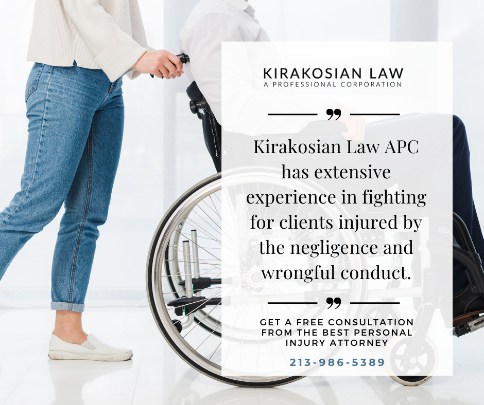 Get a Free Consultation from Experience personal Injury Lawyer in Los Angeles – Kirakosian Law