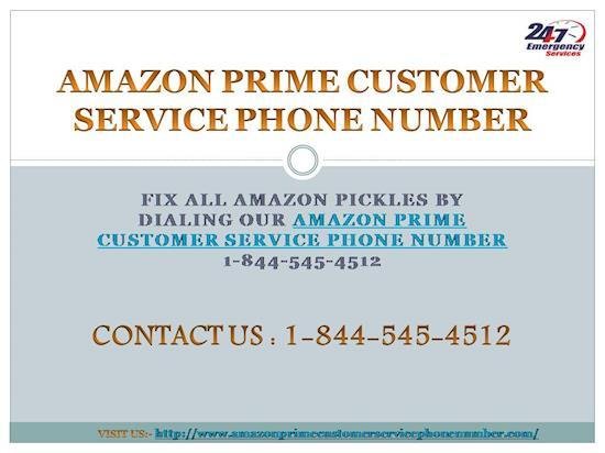 1-844-545-4512 | Have Amazon Prime Customer Service Phone Number