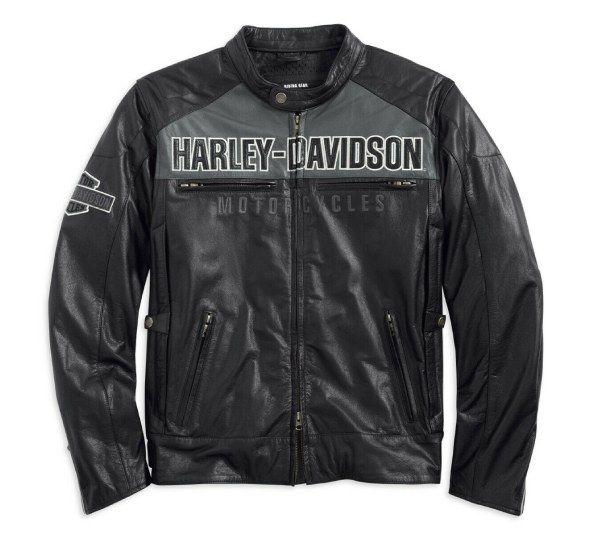 Harley Davidson Horizon HB Leather Jacket