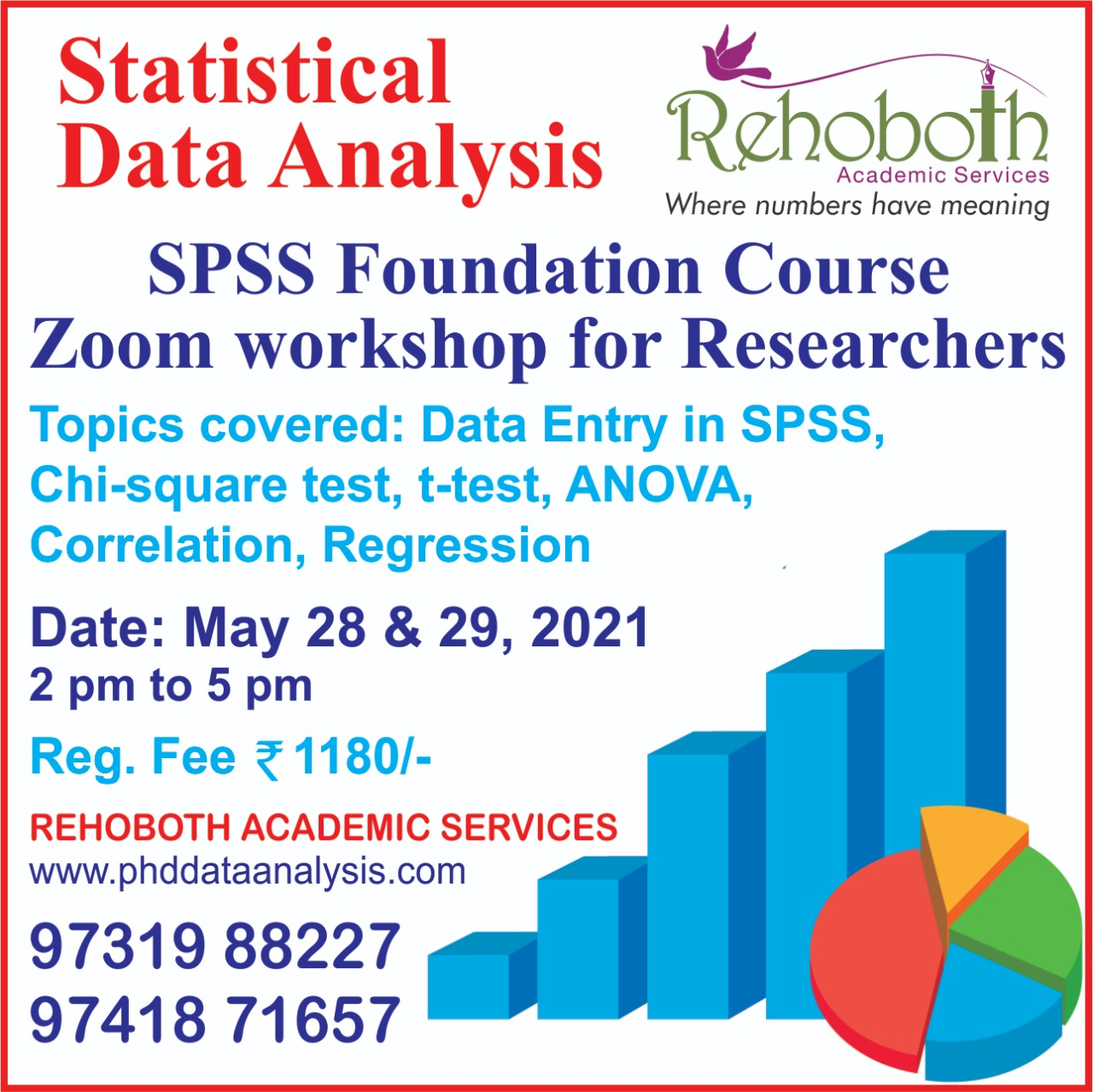 LEARN STATISTICAL ANALYSIS SPSS FOUNDATION WORKSHOP