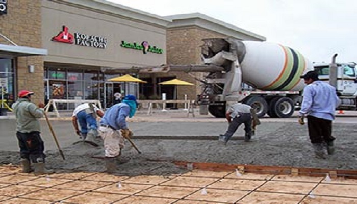 Concrete Parking Lot Repair Houston