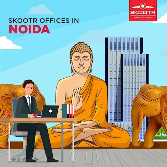 Get Shared and Coworking Office Space in Noida