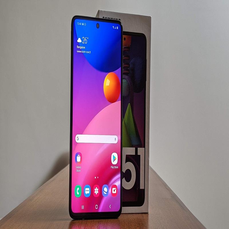 Samsung Galaxy M51 (Electric Blue, 128GB Internal Storage, 6GB RAM)