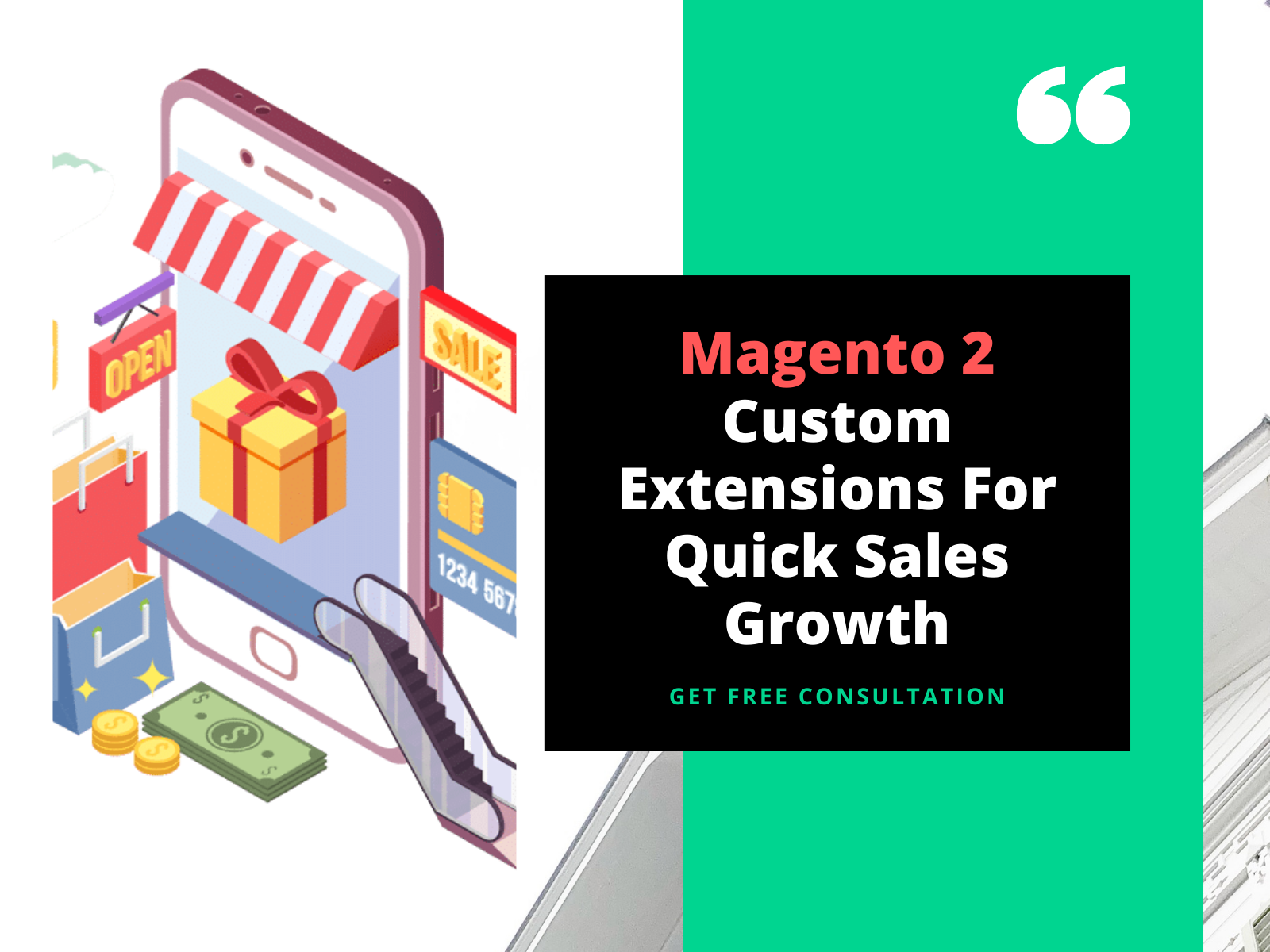 Magento 2 Custom Extensions For Quick Sales Growth