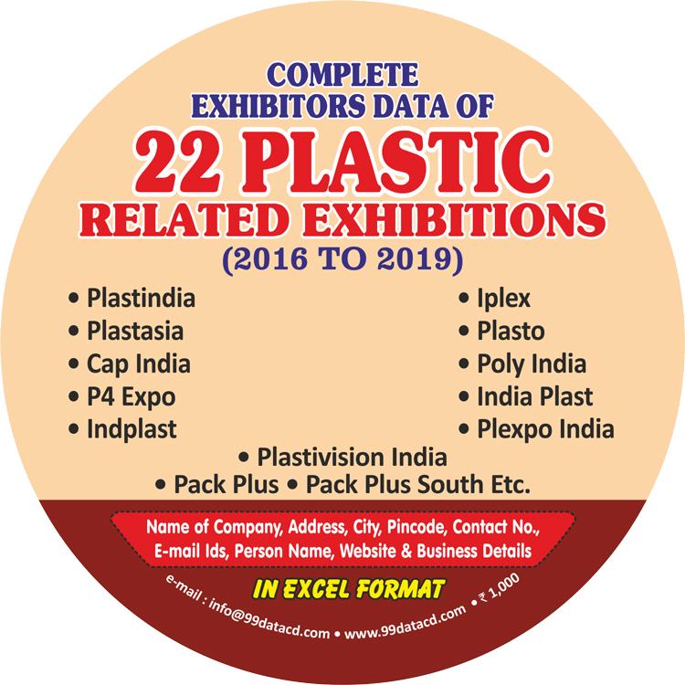 Indiaplast, Iplex, Plexpo India & Cap India Exhibitors Database