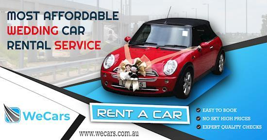 Luxury Anniversary Car Hire | weCars | Car Rental Sydney