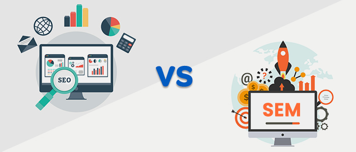 Would You Like To Know The Difference Between SEO And SEM?