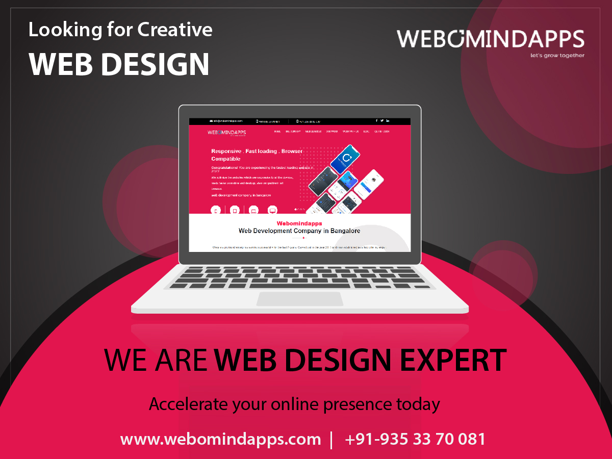 Affordable Web Design Services - Webomindapps