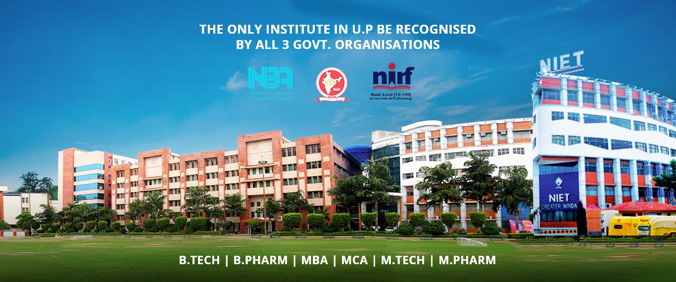 Best College for B.Tech in Delhi NCR-NIET Greater Noida