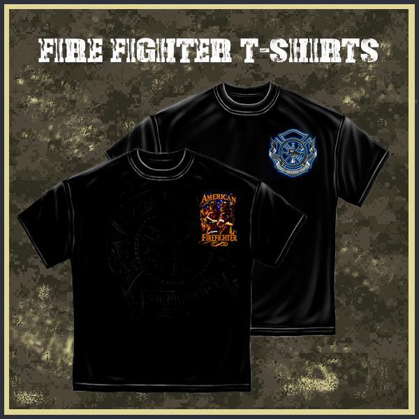 Buy Best Water & Heat-Resistant Firefighter t-shirts
